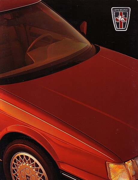 1987 Sterling 825 S SL INTRO dlx brochure catalog 87 Rover
