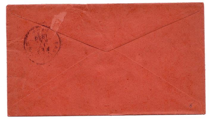 1898 Dublin GA Vintage Post Office Postal Cover