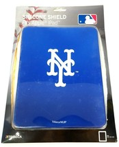 IPad Cover New York Mets  Silicone Shield MLB Blue NEW New York Baseball Fan - $11.69