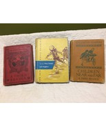 lot of 3 vintage textbooks readers 1912 to 1952 poor condition as is - $5.94