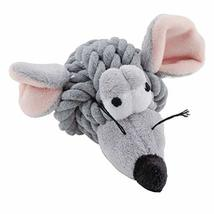 Rope Head Dog Toys Woven Ball Plush Face Squeaker Choose from 7 Characte... - $13.87 CAD