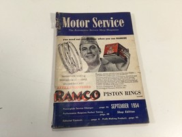 Motor Service Automotive Shop Magazine September 1954 - $9.99