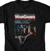 War Games t-shirt retro 80s teenage computer hacker movie graphic tee MGM320 image 2