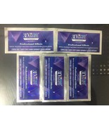 Crest 3D White LUXE Whitestrips Professional Whitening Effects 5 pouch 1... - $13.88