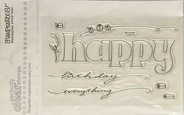 Stampendous Mega Happy Stamp Set #SSC115 - $7.99