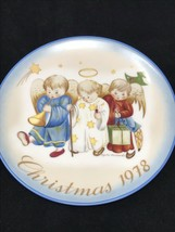1978 Berta Hummel Collection Christmas Plate Made In West Germany - $10.85