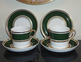 Antique Spode Copeland For Tiffany and Co New York set of 2 Cups and 4 S... - $129.00