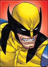 Marvel Comics X-Men Angry Wolverine Face Comic Art Refrigerator Magnet NEW - $3.95