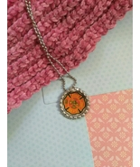 Fire Fighter Bottle Cap Necklace (Style 2) - $3.60