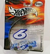 Hot Wheels Racing 2001 Nascar Pfizer #6 1:64 Die Cast PIT BOARD ROUSH RA... - $6.79