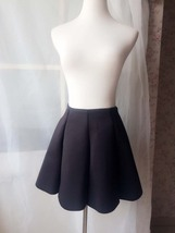 Women Girl Pleated Skirt Black Full Pleated A Line Short Skirts, many colors NWT image 3