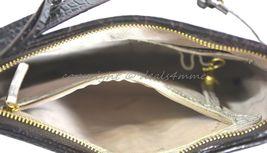 NWT Brahmin Jody Striped Cross-Body/Shoulder Bag in Angora Vineyard image 7
