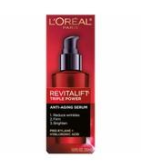L'Oreal Paris Skincare Revitalift Triple Power Concentrated Face Serum T... - $21.49