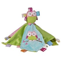 Taggies Mary Meyer Colors and Style, Oodles Owl plush Security Blanket lovey  - $18.99