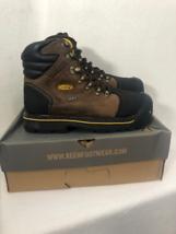 KEEN Men's Milwaukee WP Shoe (Steel Toe), Dark Earth, 9 image 3