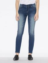 A|X Armani Exchange J01 Super Skinny Mid Rise Jeans Woman Blue denim Si... - $44.54