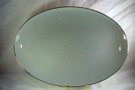 "Lenox L6 Smokey Gray Oval Platter 15 3/4"" - $60.74"