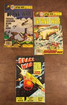70s 1978 CHARLTON SCI-FI  OUTER SPACE WAR ADVENTURES LOT OF 2 + Extra - $29.02