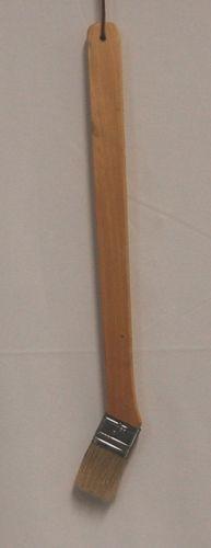 Unbranded Oak Handle 18 Inch Long Angle Head Basting Brush New