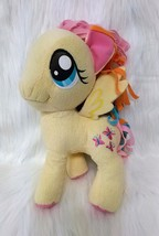 "11"" Fluttershy My Little Pony Plush Toy Yellow Butterfly Butterflies Has... - $12.99"