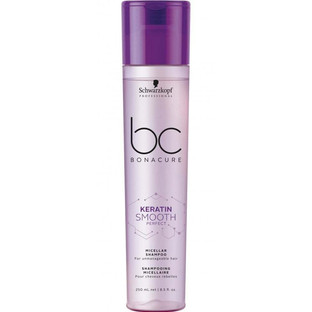 Schwarzkopf Professional  Bonacure Keratin Smooth Perfect Micellar Shampoo 8.5oz