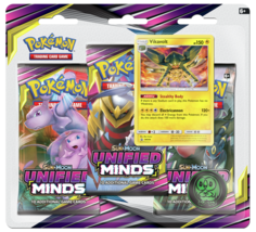Pokemon TCG Sun & Moon Unified Minds Booster Pack 3ct Blister - $14.84