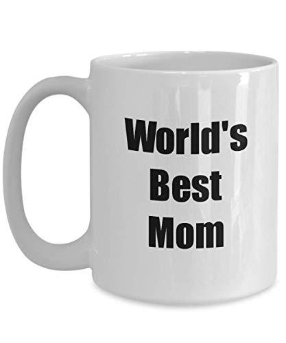Primary image for Mom Mug Worlds Best Funny Christmas Gift Idea for Novelty Gag Coffee Tea Cup 15