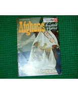 American Thread Afghans Crocheted & Knitted Book 202 - $3.50