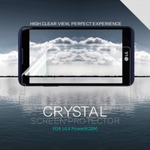 NILLKIN Anti-fingerprint Clear Screen Protector Shield Film for LG X Power - $3.60