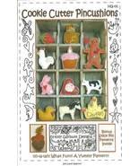 Cookie Cutter Pincushions Pattern  - $6.99