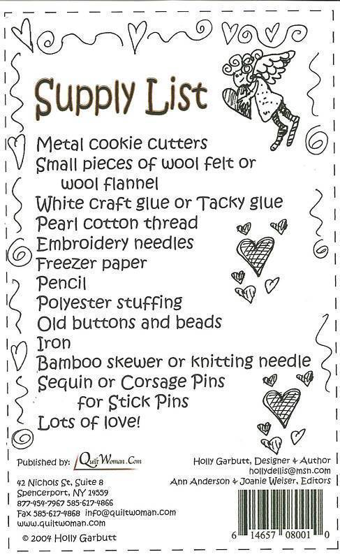 Cookie Cutter Pincushions Pattern
