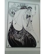 Aubrey Beardsley Greeting Card Book.  16 Greeting Cards.  1975.  Y-030 - $14.00