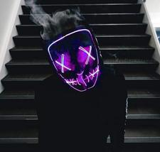 Men and Women's Halloween Party Led Mask, One Size - $25.99