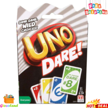 UNO Dare Wild Choices Card Game Exciting and Challenging 2-10 Players Ag... - $7.99