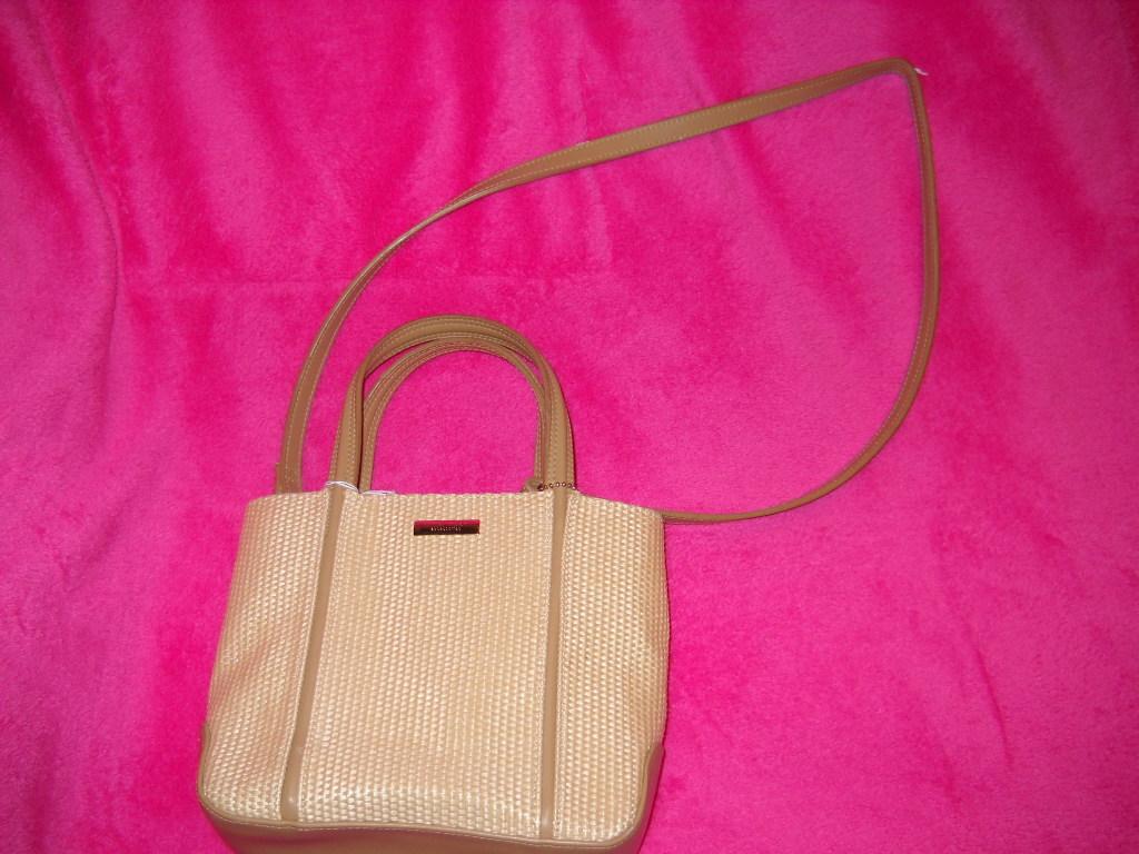 Nine West Shoulder Bag / Tan / Cream
