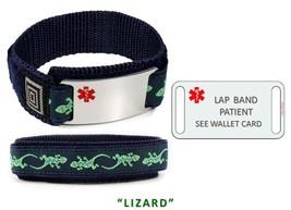 LAP BAND PATIENT Sport Medical Alert ID Bracelet. Free medical Emergency Card! image 4