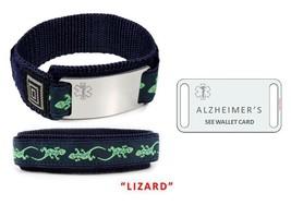 ALZHEIMERS Sport Medical Alert ID Bracelet. Free medical Emergency Card! TKID68 image 4