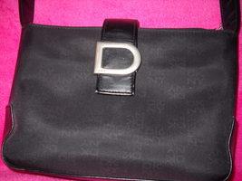 DKNY Black Microfiber Shoulder Bag - $15.99