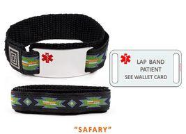 LAP BAND PATIENT Sport Medical Alert ID Bracelet. Free medical Emergency Card! image 5