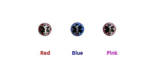 Medical Alert ID Dog Tag with Raised emblem 12 lines engraved. Free Wallet Card! image 4