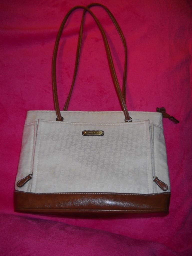 Rosetti Handbag Cream / Brown