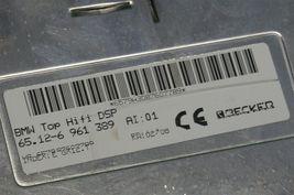 BMW Top Hifi DSP Logic 7 Amplifier Amp 65.12-6 961 389 Herman Becker image 5