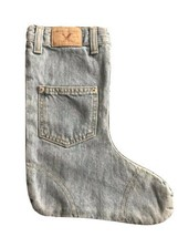 American Eagle Outfitters (Factory Made) Christmas Stocking Blue Jean De... - $12.86
