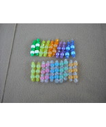 36pcs- Mix color beads and Glow in the dark Pla... - $14.00