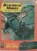Railroad Model Craftsman Magazine October 1978 Live Steam 2-8-0 - $4.99