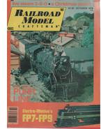 Railroad Model Craftsman Magazine October 1978 Live Steam 2-8-0 - $2.50