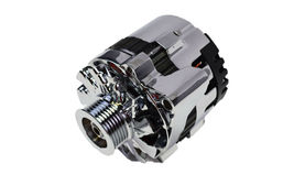 A-Team Performance GM CS130 Style 160 Amp Alternator with Serpentine Pulley image 3