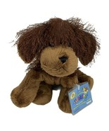 "Webkinz Brown Dog HM195 Plush Ganz Brown Sealed Code 9"" Eyelash Fur - $9.85"