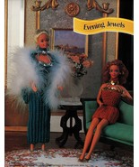 "Cocktail Evening Party Dress Gown Barbie 11-1/2"" Doll Clothes Crochet Pa... - $10.99"