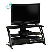 Sauder Deco Panel TV Stand, Black - $112.84